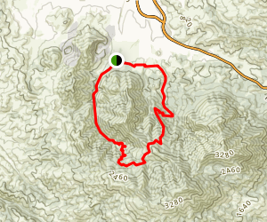 Mitchell and Donner Canyons Map