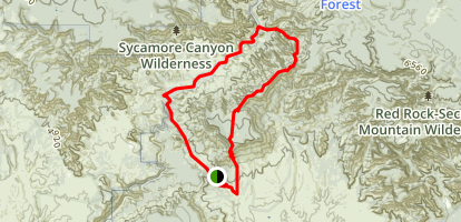 Taylor Cabin Loop Trail Map