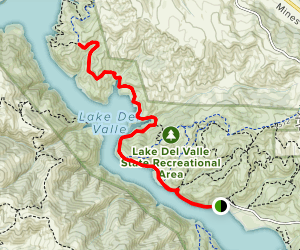East Shore Trail Map