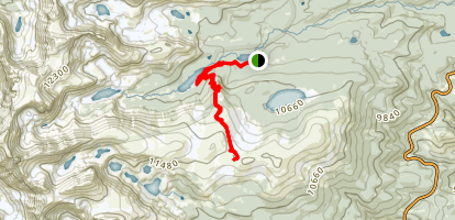 Niwot Ridge Trail Map