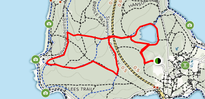 Beaver Lake and Lover's Walk Trail Map