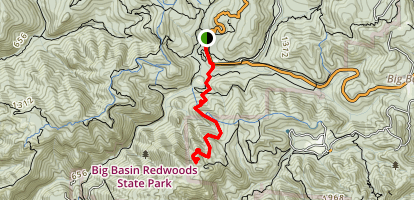 Buzzard's Roost Map