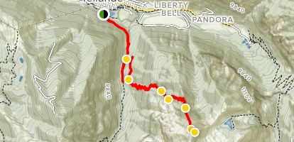 Ballard Mountain Trail Map
