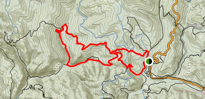 Timms Creek Trail Map