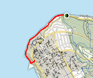 Acadia and Tower Beaches Map