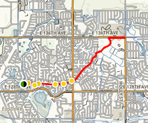 Lee Lateral Ditch Trail Map