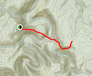 Kinder Crossing Trail Map