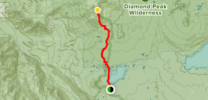 Diamond Peak Via Pacific Crest Trail - Oregon | AllTrails