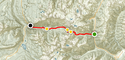 Ophir Pass Road Map