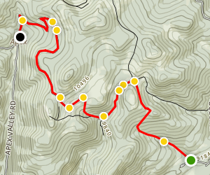 Pickle Gulch 4x4 Trail Map