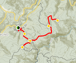Miller Rock 4x4 Trail Map
