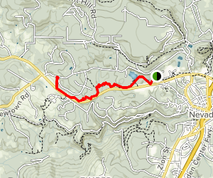 Hirschman Trail Map
