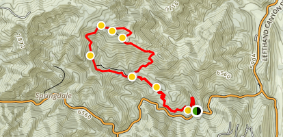 Lefthand Canyon Trail [CLOSED] Map