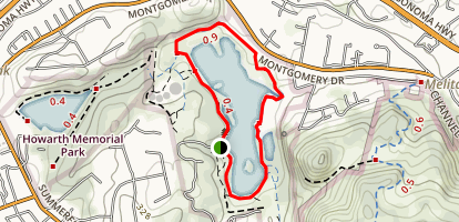 Spring Lake Loop Map