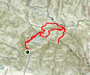 Hood Mountain Trail to Panoramic Ranch Trail Loop [CLOSED] Map