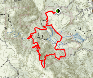 Sonoma Ridge Trail Loop Map
