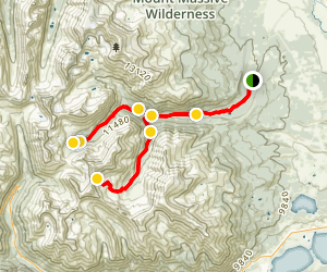 Halfmoon Gulch 4x4 Trail Map