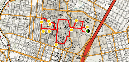 University of Texas Walk Map