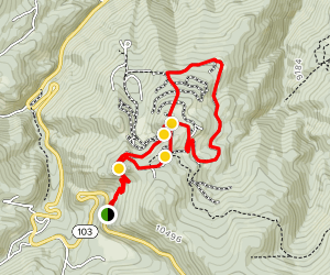 Devil's Canyon 4x4 Road Map