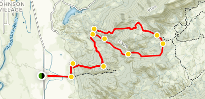 Chinaman Gulch and Carnage Canyon Map