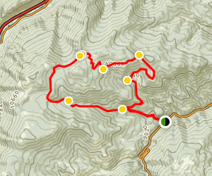 Cascade Creek 4x4 Road Map