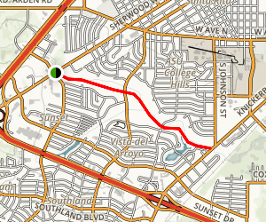 Red Arroyo Trail Map