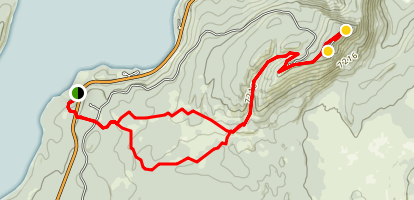 Signal Mountain Trail Map