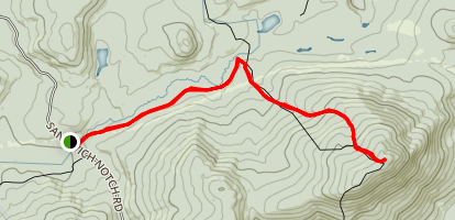 Gineua Trail to Mt. Israel Map