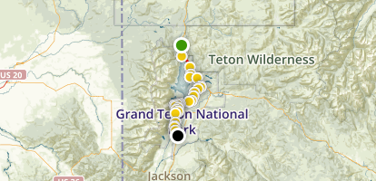 Grand Teton National Park Road Trip Wyoming Maps Photos - Us road map with national parks