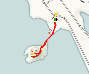 Battery Point Lighthouse Map