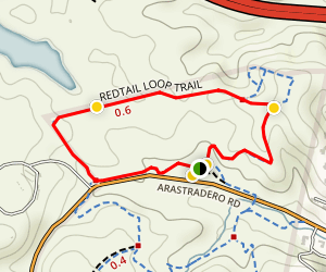 Redtail Loop Trail Map