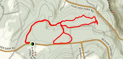 Cliff Trail Loop Map