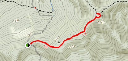 Huntersfield Mountain Map