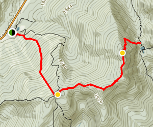 Wildcat Range Trail Map