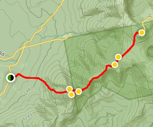 Edmands Path to Crawford Path Map