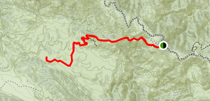 Barker Valley Spur Trail Map