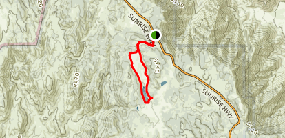 Big Laguna Lake Loop Map