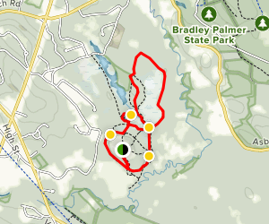 Ipswich River Wildlife Sanctuary Trail Map