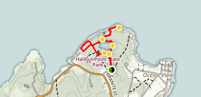 Halibut Point Trail Map