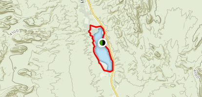 Upper Pahranagat Lake Loop Map