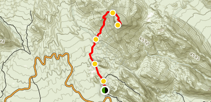 Turtlehead Peak Trail Map