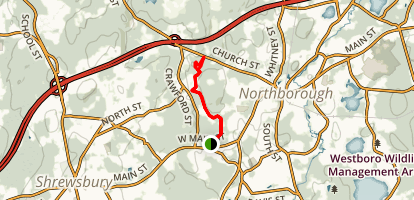 Cold Harbor Trail Map
