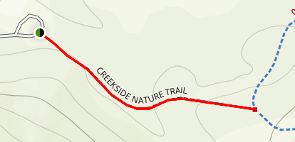 Creekside Nature Trail Map