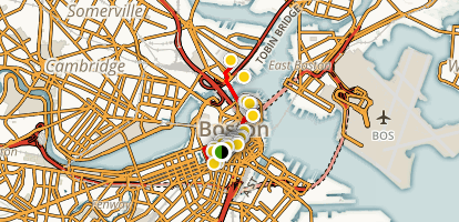 Boston's Freedom Trail Map