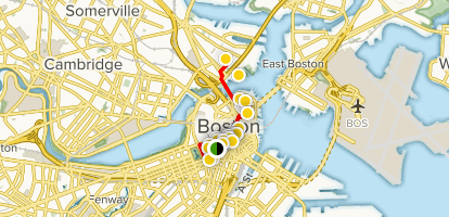 Boston Map Historical Sites.Boston S Freedom Trail Massachusetts Alltrails