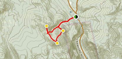 Mount Tom, Avalon, and Field Loop Map
