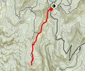 Point Mariah and Sterling's Canyon Trail Map
