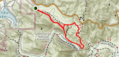 Reagan Ranch Trail Map