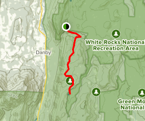 Griffith Lake via Long Trail (Appalachian Trail) Map