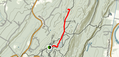 Table Rocks Trail Map